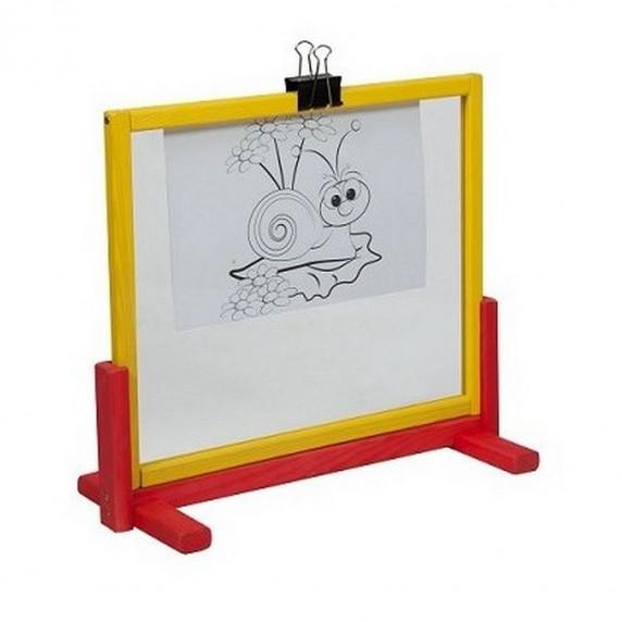 Tablica na biurko Inlea4Fun z bezpiecznym szkłem