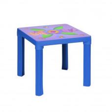 Stolik plastikowy dla dzieci z motywem, niebieski Preview