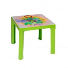 Stolik plastikowy dla dzieci z motywem, zielony Preview