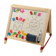 Tablica magnetyczna na biurko Inlea4FunTable, dwustronna + akcesoria Preview