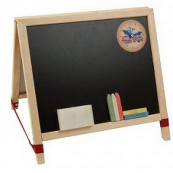 Tablica magnetyczna na biurko Inlea4FunTable, dwustronna + akcesoria