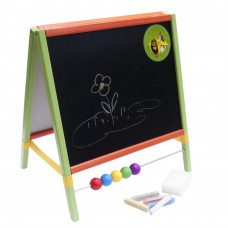 Tablica magnetyczna na biurko Inlea4Fun Table, dwustronna, kolorowa + akcesoria Preview