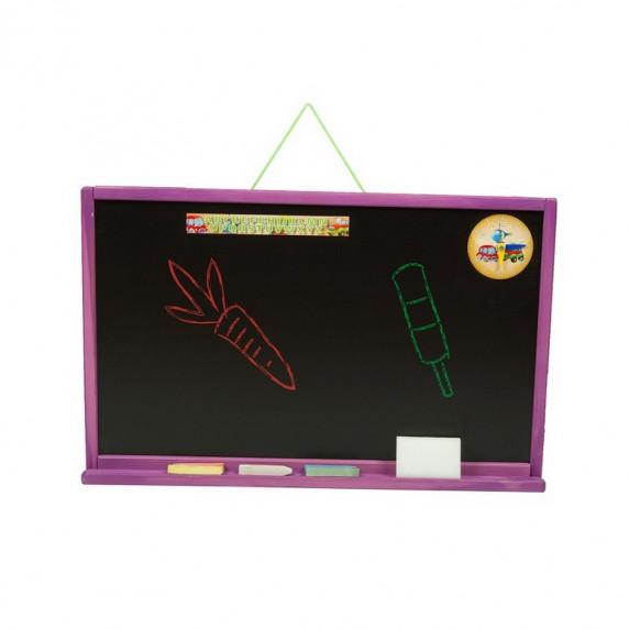 Tablica magnetyczna Inlea4Fun Simple One, wisząca, jednostronna, fioletowa