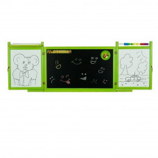 Inlea4Fun FIRST SCHOOL tablica wisząca, dwustronna, zielona Preview