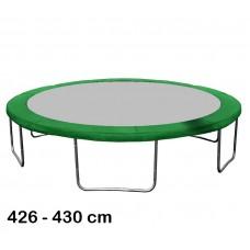Osłona sprężyn do Trampoliny 430 cm (14ft) zielona Preview