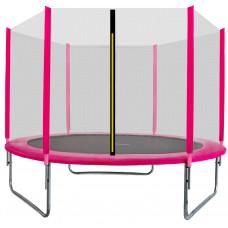 Trampolina Sport Top Aga 180 cm (6 Ft) z zewnętrzną siatką ochronną, różowa Preview
