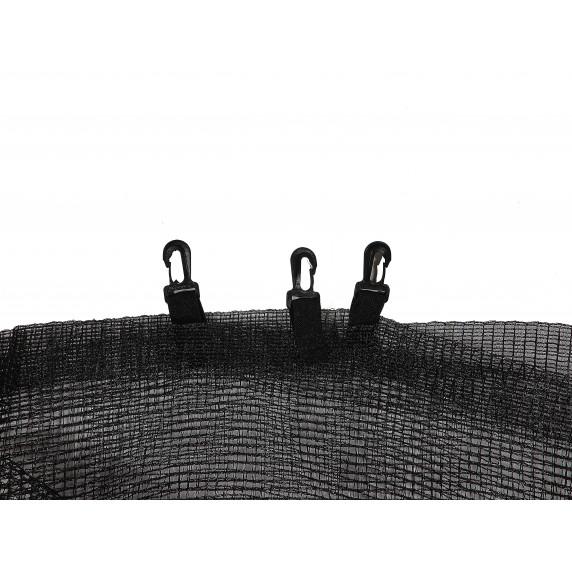 Trampolina Sport Top Aga 150 cm (5 Ft) z zewnętrzną siatką ochronną, zielona