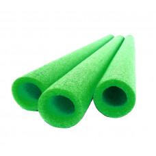 Osłona na słupki do trampoliny Aga , 100 cm - pianka ochronna Mirelon zielona
