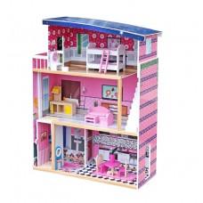 Domek drewniany dla lalek Aga4Kids SCARLETT z akcesoriami Preview