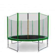 Trampolina Sport Pro Aga 366 cm (12 Ft) z zewnętrzną siatką ochronną, zielona Preview