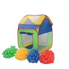 Namiot, domek Clamaro z kolorowymi, plastikowymi piłeczkami Preview