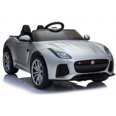 Auto na akumulator Jaguar F-Type lakierowane, srebrne Preview