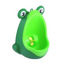 Mini pisuar Żabka, przenośny, na przysawki, zielony Preview
