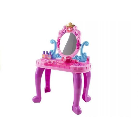 Toaletka dla dziewczynki Inlea4Fun z dźwiękami + akcesoria