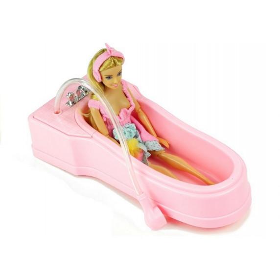 Lalka Anily w kąpieli + akcesoria