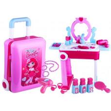 Toaletka dla dziewczynki Inlea4Fun 3 w 1, różowa Preview