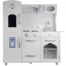 Kuchnia drewniana dla dzieci Inlea4Fun Lena, biała, duża Preview