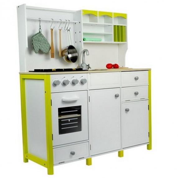 Kuchnia drewniana dla dzieci Mery + akcesoria