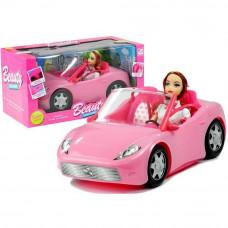Lalka Iza Inlea4Fun w różowym kabriolecie Preview