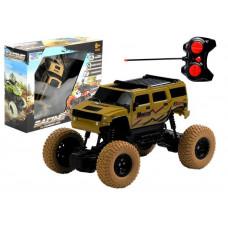 Auto R/C zdalnie sterowane Monster Truck, beżowe Preview