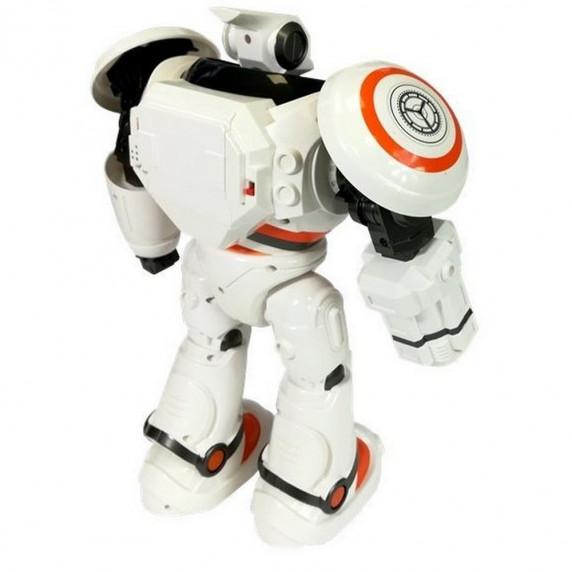 Zdalnie sterowany robot RC DefenderS 33 cm, z wystrzeliwanymi pociskami