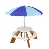Stół piknikowy AXI Orion z parasolem, dla dzieci
