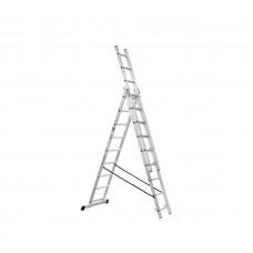 Drabina aluminiowa Höher 160 - 320 cm, wysuwana, 3 elementowa Preview