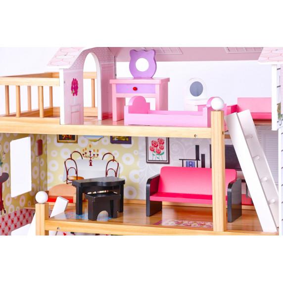 Domek drewniany dla lalek Aga4Kids BECKY