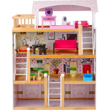 Domek drewniany dla lalek Aga4Kids BECKY Preview
