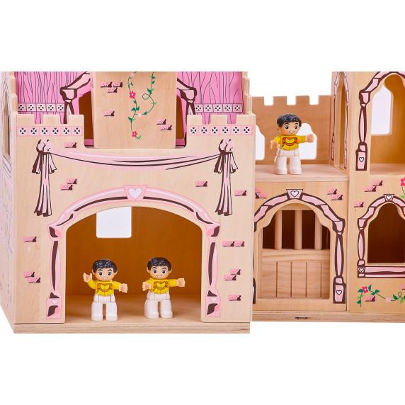Zamek drewniany, domek dla lalek  Aga4Kids Castle