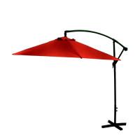 Parasol ogrodowy Exclusive Bony 300 cm czerwony