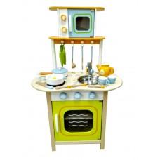 Kuchnia drewniana dla dzieci Aga4Kids Olive + akcesoria Preview