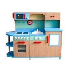 Kuchnia drewniana dla dzieci Aga4Kids Sky Blue duża Preview