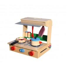 Mini kuchnia drewniana dla dzieci Aga4Kids Polly wysokość 42 cm Preview