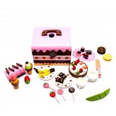 Zestaw kuferek pełen słodyczy Aga4Kids Candy World 52 elementy Preview