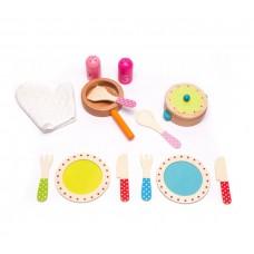 Naczynia kuchenne drewniane dla dzieci Aga4Kids Cookware Set 5  Preview