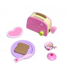 Zestaw drewniany śniadaniowy toster Aga4Kids Breakfast Toy  Preview