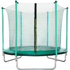 Trampolina Sport Fit Aga 180 cm (6 Ft) z wewnętrzną siatką ochronną, zielona Preview
