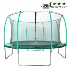 Trampolina Sport Fit Aga 366 cm (12 Ft) z wewnętrzną siatką ochronną, zielona Preview