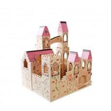 Zamek drewniany, domek dla lalek  Aga4Kids Castle Preview