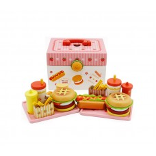 Zestaw kuferek Aga4Kids Hamburger Toy  Preview
