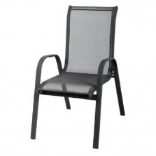 Krzesło ogrodowe Linder Exclusiv Stapel MC330875 czarne Preview