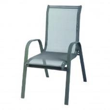 Krzesło ogrodowe Linder Exclusiv Stapel MC330876 szare Preview