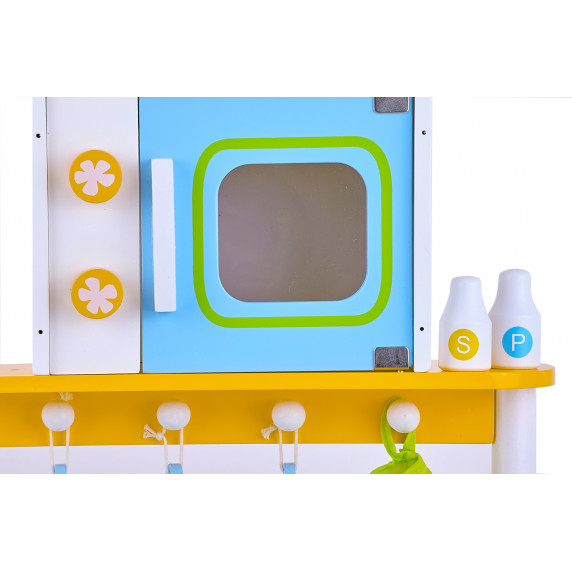 Kuchnia drewniana dla dzieci Aga4Kids Olive + akcesoria