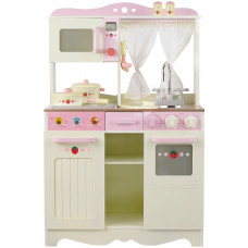 Kuchnia drewniana dla dzieci Aga4Kids Retro Cooker + akcesoria Preview