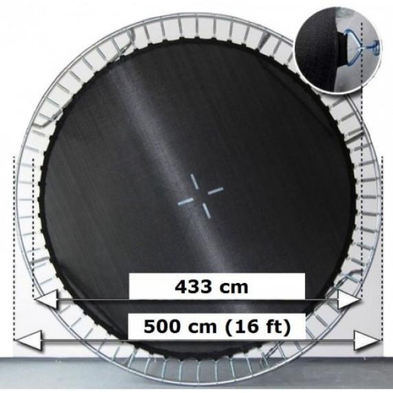 Mata do skakania do trampoliny Aga 500 cm (16 ft) - 108 sprężyn
