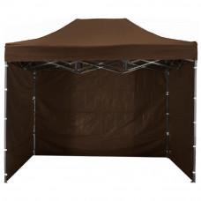 Namiot handlowy AGA 3S POP UP 2 x 3 m brązowy Preview