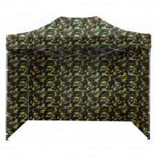 Namiot handlowy AGA 3S POP UP 3 x 4,5 m panterka Preview