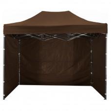 Namiot handlowy AGA 3S POP UP 3 x 4,5 m brązowy Preview