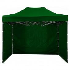 Namiot handlowy AGA 3S POP UP 3 x 4,5 m zielony Preview
